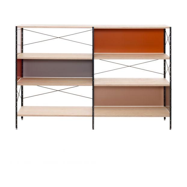 Bücherregal ESU Shelf, 3 Regale, Charles & Ray Eames, 1949 Vit
