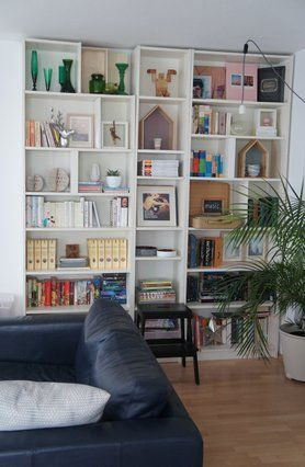 neues altes Bücherregal