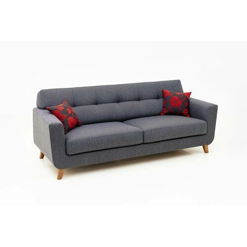 3-Sitzer Sofa Walter Isabelline Farbe: Panama - Beige leicht | 3 .
