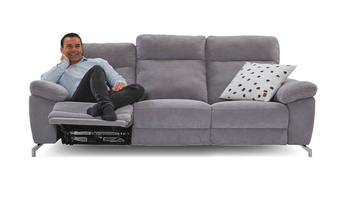 Onyx 3-Sitzer Sofa (mit Relax-Funktion) - Seats and Sof