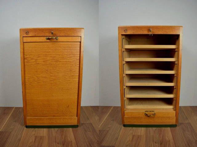 Vintage file cabinet / Dobergo | Furniture | 60s | Germany .