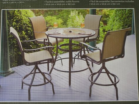 Upgrade | Buy patio furniture, Patio furniture for sale, High top .