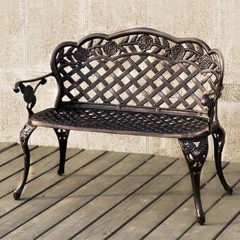 Madama Copper Garden Bench in 20