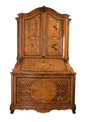 An important German Baroque cabinet on chest, in 2019 | Barock .