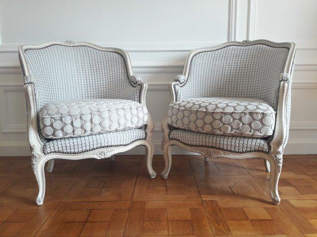 Antike Sessel im Louis XVI-Stil, 2er Set | Antike sessel, Sessel .