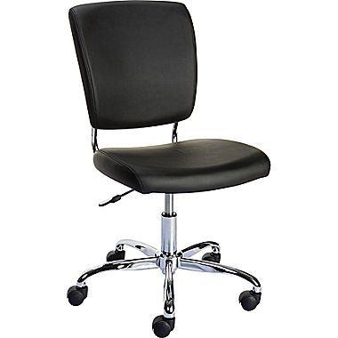 Armlose Bürostuhl - Armlose Stuhl : Stellen Sie eine angenehme .
