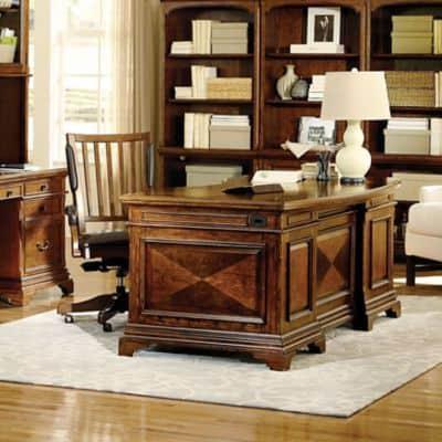 "Aspenhome Hawthorne 72"" Executive Desk | Office Ba"