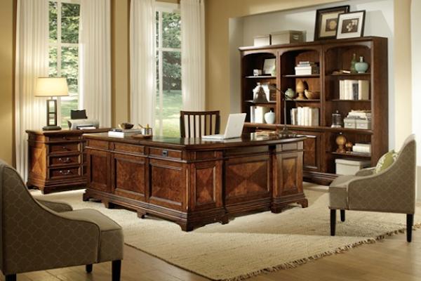 Aspen Home Hawthorne L-Shape Desk - OfficeMake