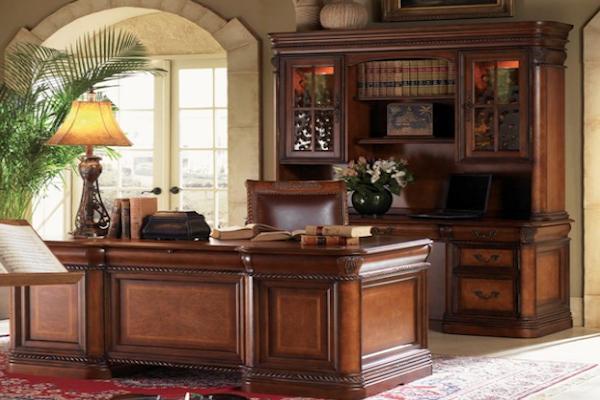 Aspen Home Napa Executive Desk - OfficeMake