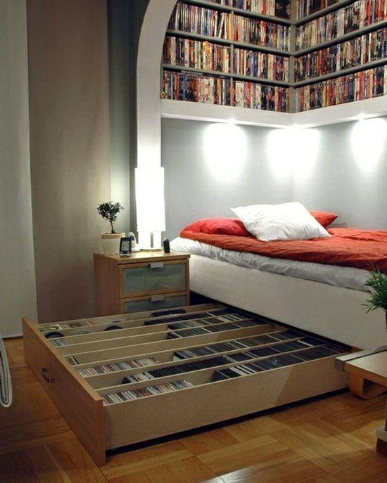 Aufbewahrungsideen für Schlafzimmer
