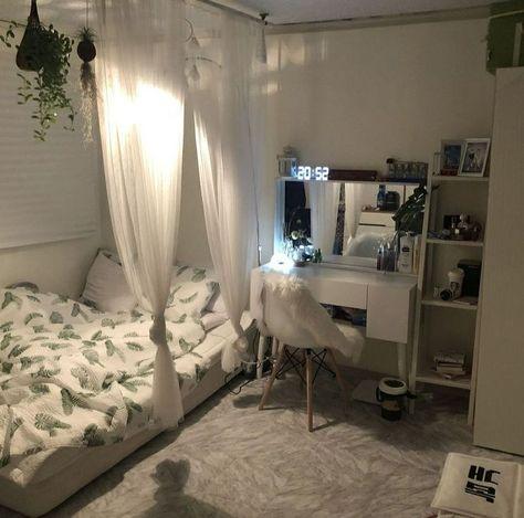 47 Minimalistische Aufbewahrungsideen für Ihr kleines Schlafzimmer .