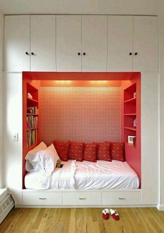 Aufbewahrungsideen im Schlafzimmer - 35 ausgeklügelte Lösungen .