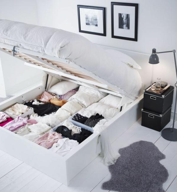 Aufbewahrungsideen für das Schlafzimmer – Vorschläge wie man .