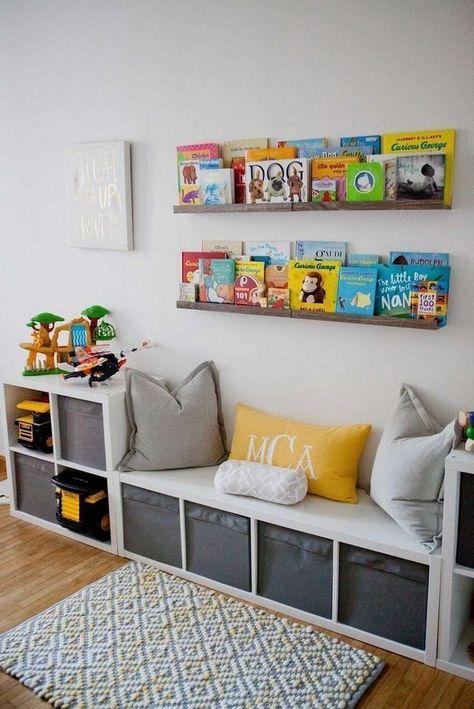 32 Tolle Aufbewahrungsideen für ein Kinderzimmer - AllaDecor .