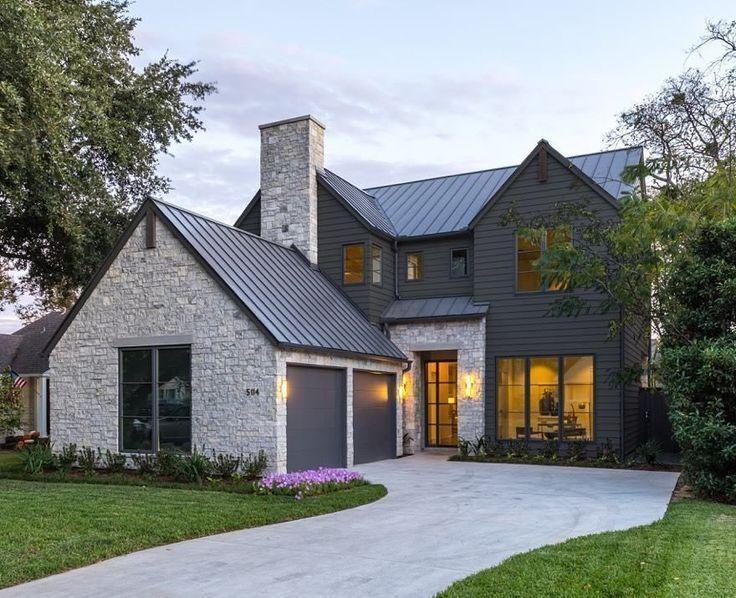 Wunderschönes modernes Bauernhaus - Außendesign 13 - #Beautiful .