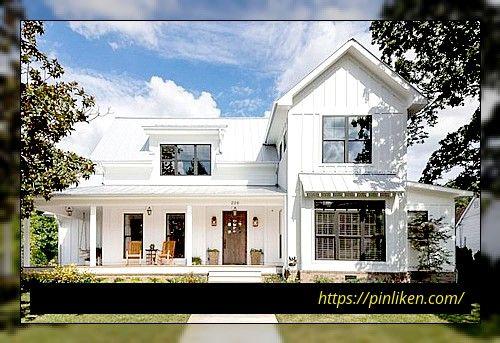 30+ Schöne Bauernhaus Exterior Design-Ideen Wunderschönes .