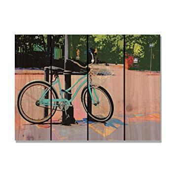 Gizaun Art Blau Cruiser Innen/Außen Wand Kunst, Full Color auf .