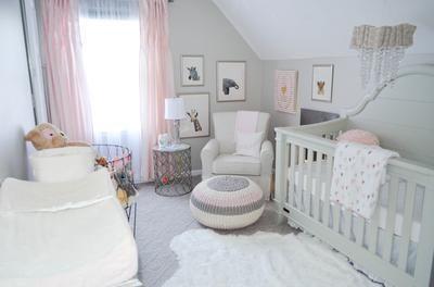 Shabby Chic Pink Zoo Baby-Kindergarten-Ideen (Baby-Kindergarten .