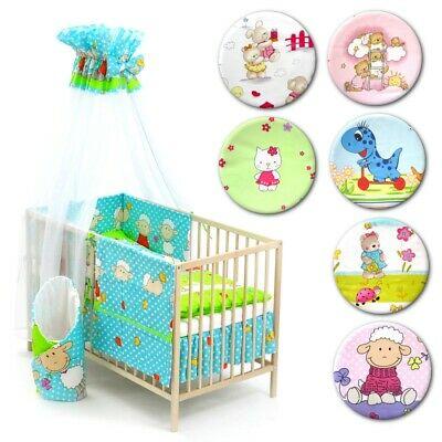 13-tlg. Baby-Bettwäsche-Set Bettzeug Bettbezug Bettgarnitur für .