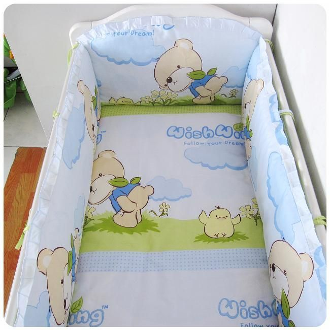 Herrliche Babybett Krippe Bettwäsche für Ihr geliebtes Baby .