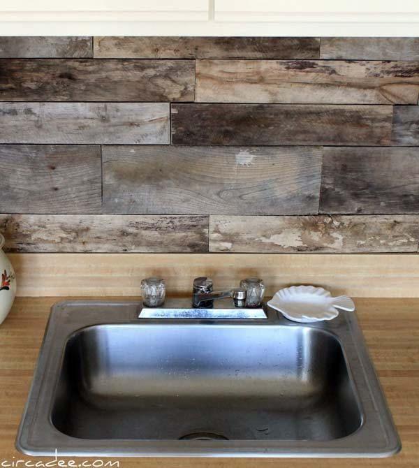 24 Cheap DIY Kitchen Backsplash Ideas and Tutorials You Should See .