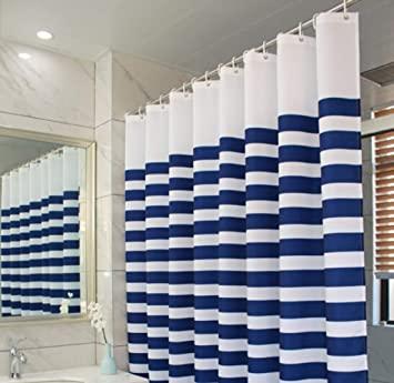 ZHZ Badezimmer Duschvorhang Tuch Dicke Polyester Tuch wasserdicht .