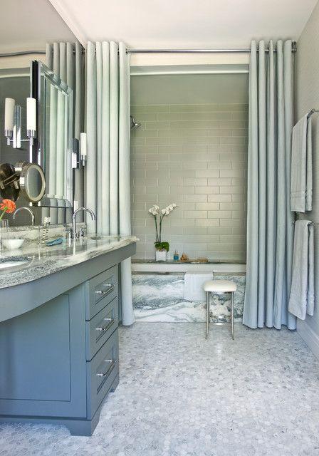 Badezimmer Duschvorhänge