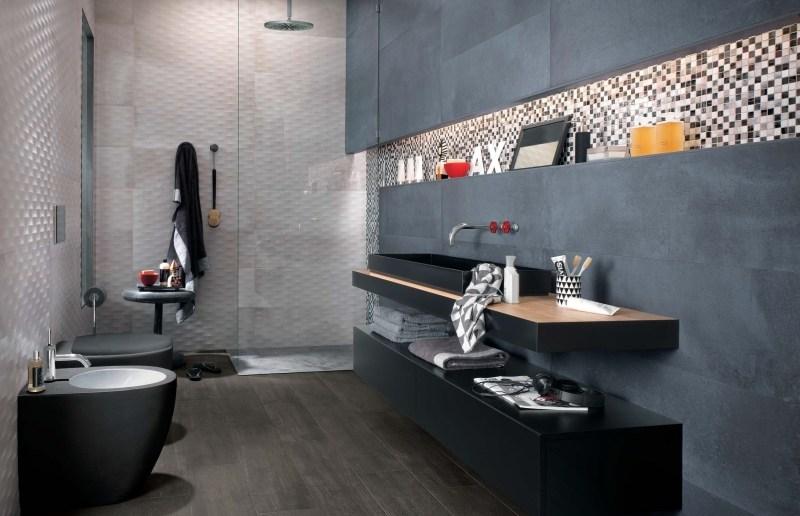 Badfliesen Ideen: 80 Beispiele für moderne Badezimmer Fliesen Desig