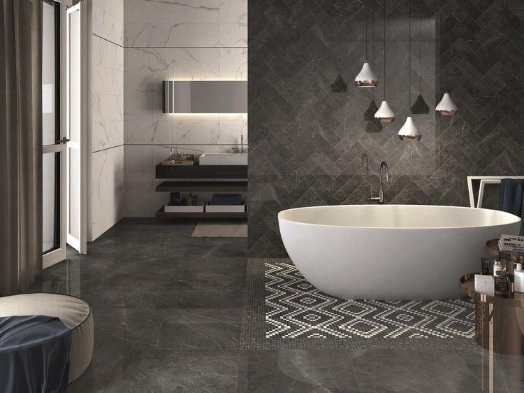 Wandfliesen fürs Bad – 30 moderne Fliesen Designs und Trends aus .