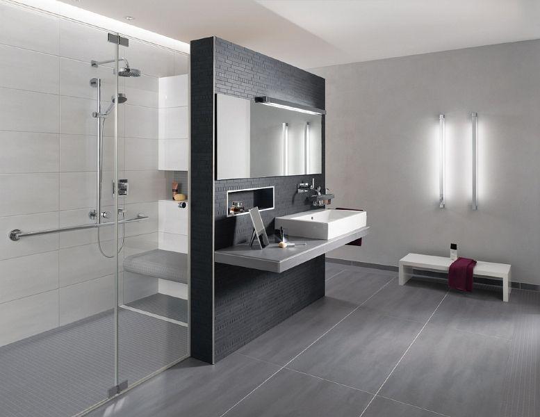 Badezimmer Anthrazit Wei Liebenswert Design Badezimmer Fliesen Wei .