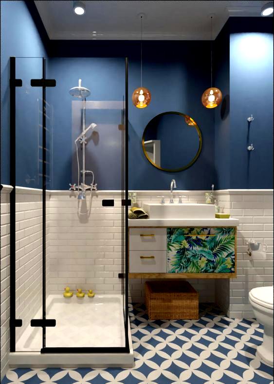 50 besten Badezimmer für kleine Räume Designs Farben und Fl in .