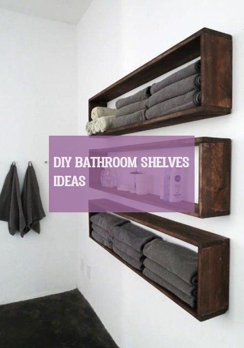 Diy Bathroom Shelves Ideas Diy Badezimmer Regale Ideen Idées .