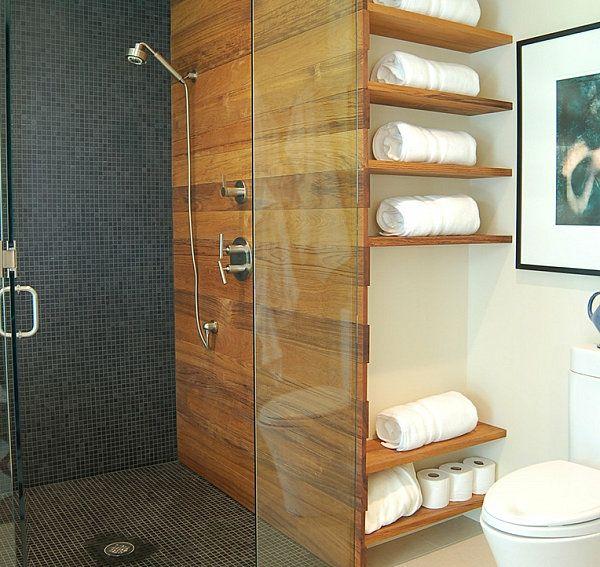 Badezimmer Regale