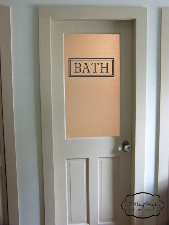 Badezimmer Türen Mit Glas | Badezimmer vinyl, Glas badezimmer und .