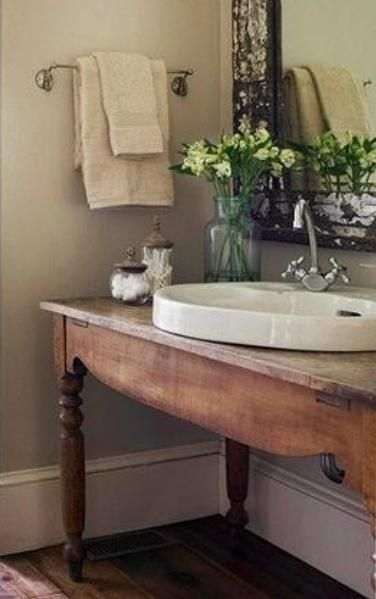Country bathroom sink | Bad inspirati