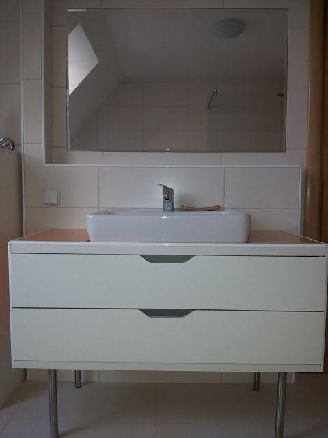 My Stolmen vanity unit | Badezimmer unterschrank ikea .
