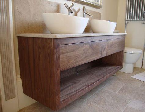 Wonderful Walnut Bathroom Vanities : Great Walnut ... - #Bathroom .