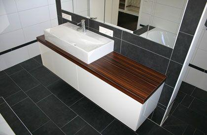 Badmöbel für kleine Räume | Kleine badezimmer, Moderne badmöbel .