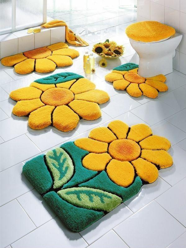 Badteppiche lassen Ihr Bad gemütlicher und einladender wirken .