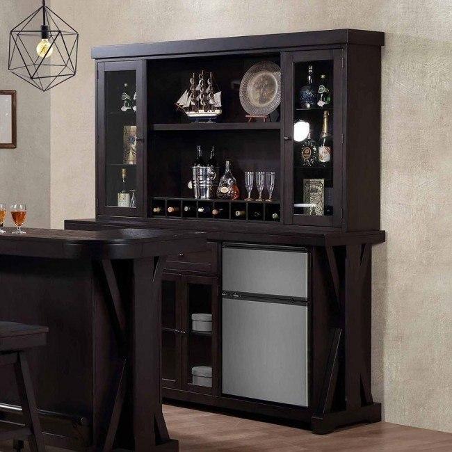 Rum Pointe Back Bar W/ Hutch ECI Furniture | Furniture Ca