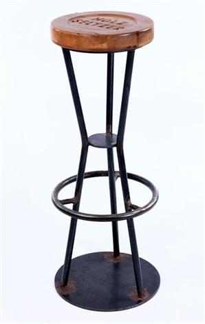 Holz Seltzer, Barhocker by Martin Kippenberger on artn