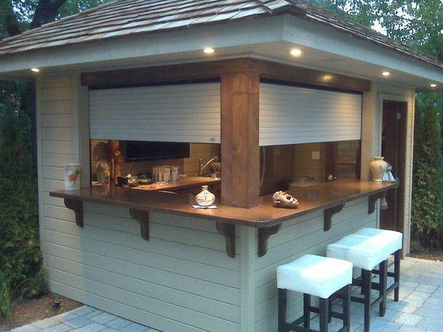Ideen für kreatives Patio / Bar im Freien (Bar Diy Ideas) | Garden .