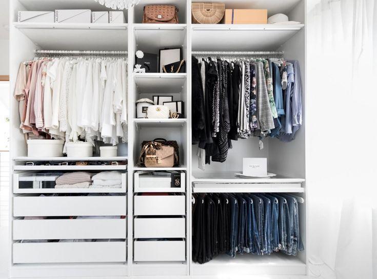 Ankleidezimmer Ikea Pax begehbarer Kleiderschrank Kleiderschrank .