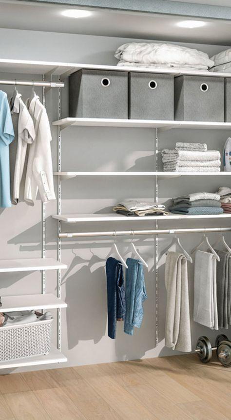 Begehbarer Kleiderschrank - für Dachschräge und Ankleidezimmer in .