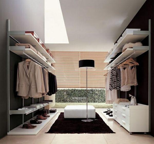 Begehbarer Kleiderschrank, der Traum jeder Frau | Closet designs .