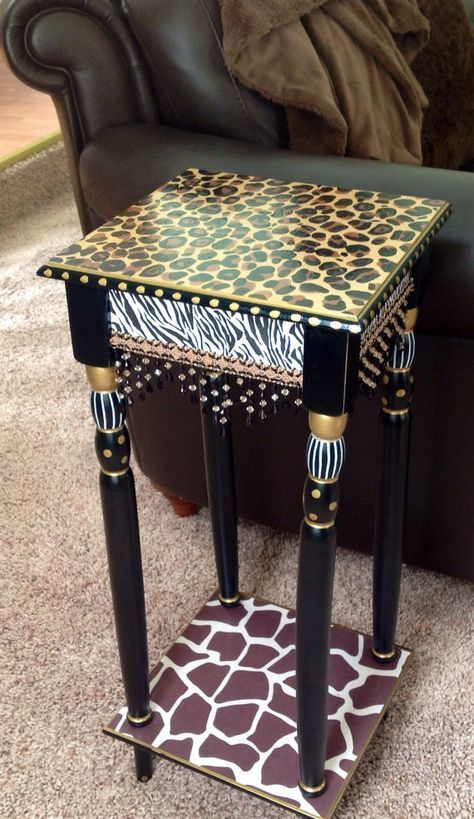 Whimsical Painted Furniture, Whimsical Painted Table, Painted .