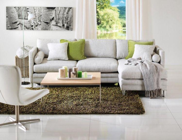 Bequemes Schlafsofa - ein sehr praktisches Möbelstück zu Hause .