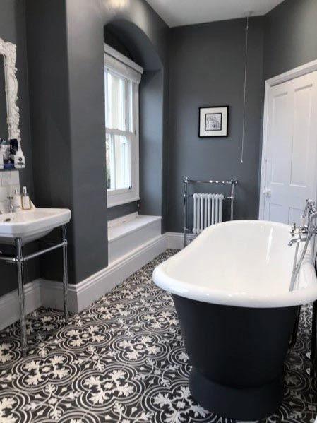 Top 60 besten grauen Badezimmer Ideen – Interior Design .