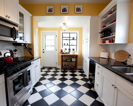 Thinking of doing white cabinets.....I already have some yellow .