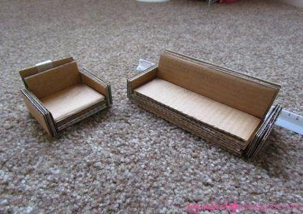 Beste Diy Möbel Couch Günstige 47 Ideen | Puppenhaus, Diy .